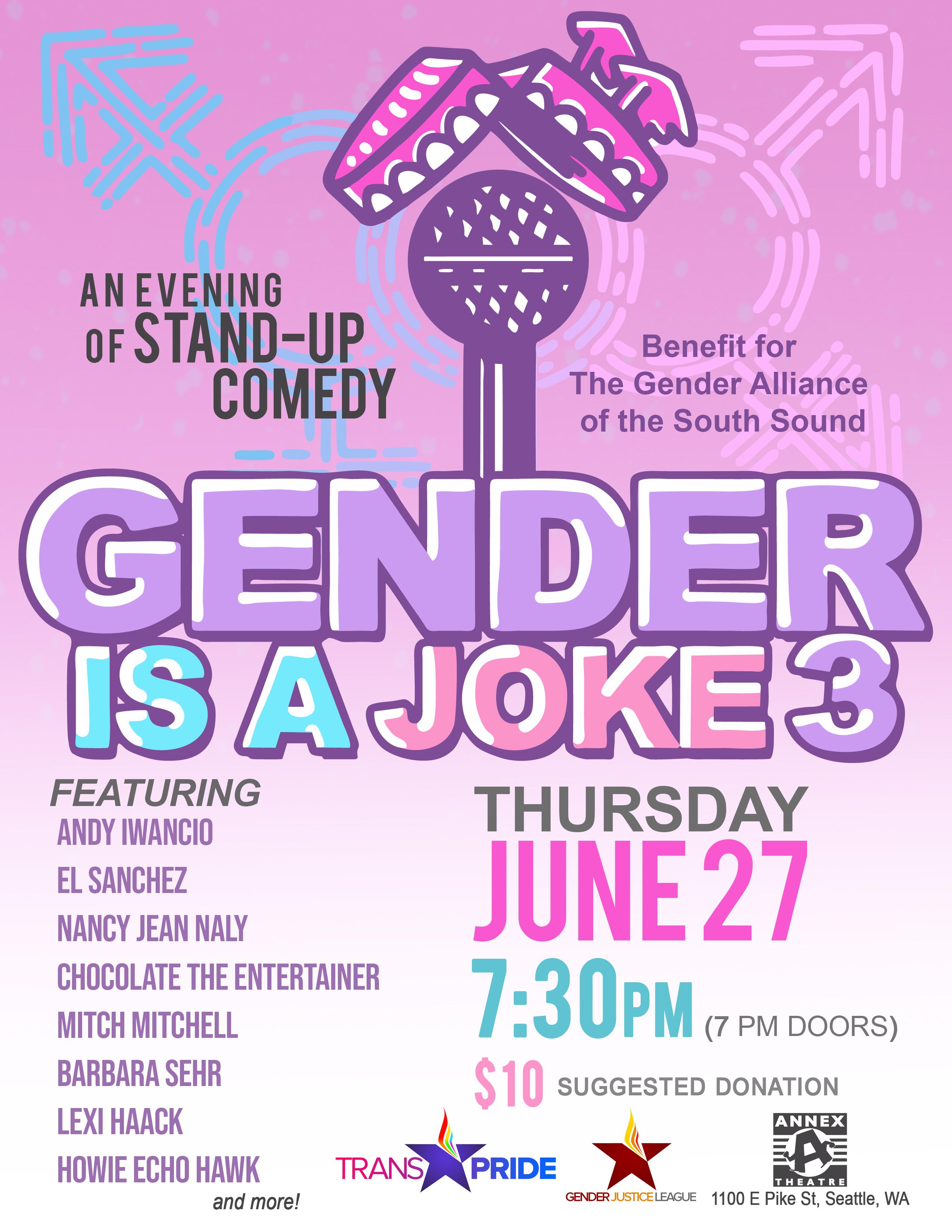 Gender Is A Joke 3!